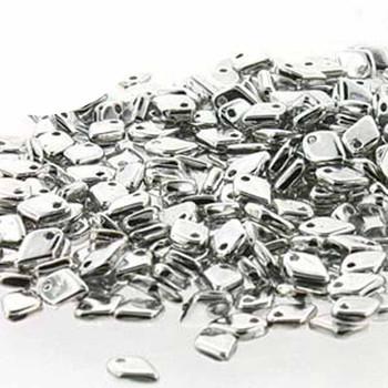 Crystal Full Labrador Czech Glass Dragon Scale Bead 1 5x5mm 9 5 Grams Drg327000-Tb