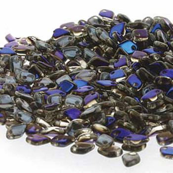 Crystal Azuro Czech Glass Dragon Scale Bead 1 5x5mm 9 5 Grams Drg322201-Tb
