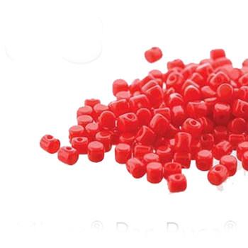 Opaque Coral Minos Par Puca 2 5x3mm Cylinder Czech Glass Beads 5 Grams Hp-Mns253-93200-5G