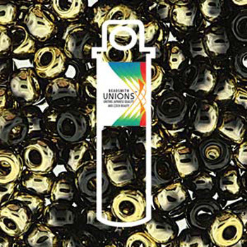 Black California Night Unions 11/0 Seed Beads Round Rocailles 24 Grams