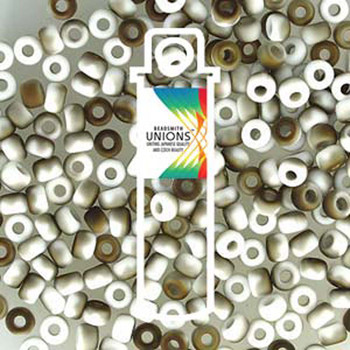 White Opaque Valentine Matte Unions 15/0 Seed Beads Round Rocailles 8 Grams 15-402-22671-Tb
