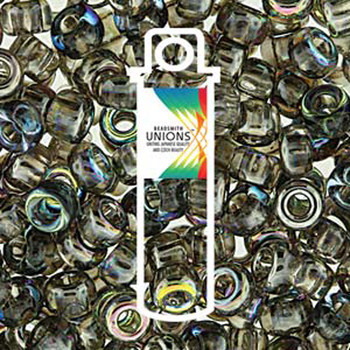 Crystal Graphite Rainbow Unions 8/0 Seed Beads Round Rocailles 22 Grams 08-131-98537-Tb