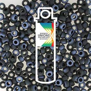 Black Lagoon Matte Unions 6/0 Seed Beads Round Rocailles 20 Grams 06-401-23771-Tb