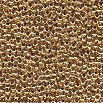 Genuine Metal Seed Beads 11/0 Gold Tone Gilding Metal 15 Grams Mt11-Glm-Tb