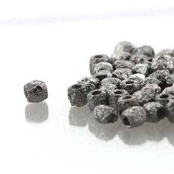 Fire Polish True2s 2mm Czech Glass Etch Full Chrome 600 Beads