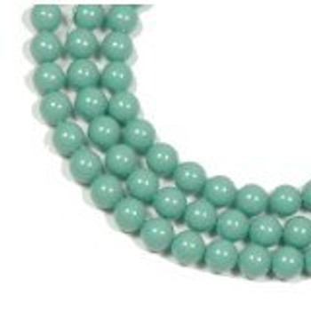 "100 Swarovski Crystal Pearls 4mm Round Beads 5810. 16"" Loose Strand Jade"