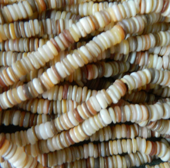 7-8mm Mother Of Pearl Beads 15 Inch Loose Strand Gold Lip Shell Rondelle Gt-160506141121