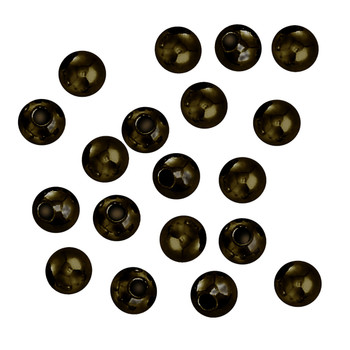 100 Antique Brass Plated Brass Beads 5mm Round Jewelry Spacer Metal Beads Z-G-090709094043-Ab