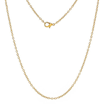12 Pack Gold Plated 2mm Cable Chain 30 Inch Rb59643