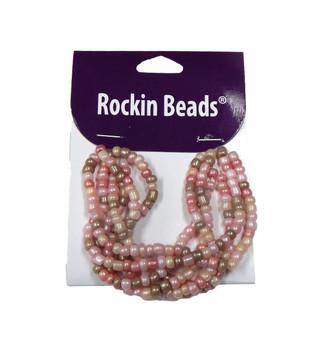 Pink Irregular Mixed Seed And Bead From India Si-40169 Ba783935148978