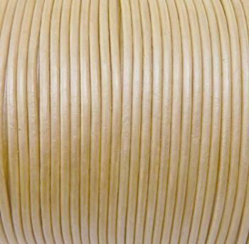Rockin Beads 1.5mm Buffalo Leather Round Cord 25 Yards Tan