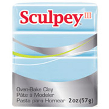 Sculpey Iii Original Polymer Clay, 2Oz, Sky Blue Pfms1144