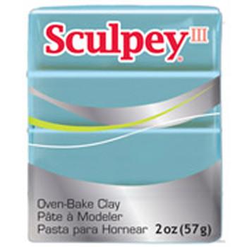 Sculpey Iii Original Polymer Clay, 2Oz, Tranquility 10013655