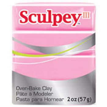 Sculpey Iii Original Polymer Clay, 2Oz, Dusty Rose Pfms303