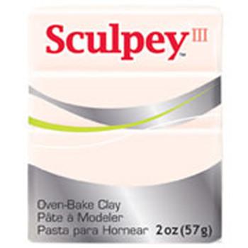 Sculpey Iii Original Polymer Clay, 2Oz, Beige Pfms09
