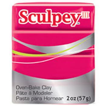 Sculpey Iii Original Polymer Clay, 2Oz, Red Pfms083