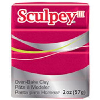 Sculpey Iii Original Polymer Clay, 2Oz, Deep Red Pearl Pfms1140