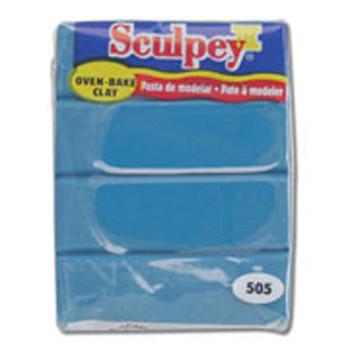 Sculpey Iii Original Polymer Clay, 2Oz, Turquoise Pfms505