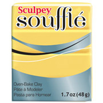 Sculpey Souffie Polymer Clay Canary 1.7Oz