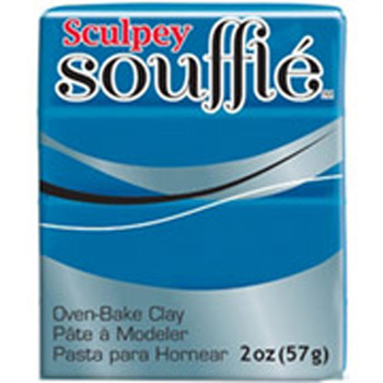 Sculpey Souffie Polymer Clay Lagoon 1.7Oz
