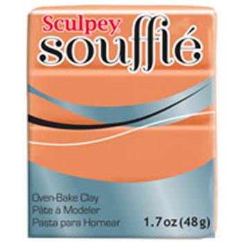 Sculpey Souffie Polymer Clay Pumpkin Pie 1.7Oz