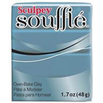 Sculpey Souffie Polymer Clay Bluestone 1.7Oz