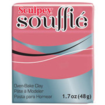 Sculpey Souffie Polymer Clay Guava 1.7Oz
