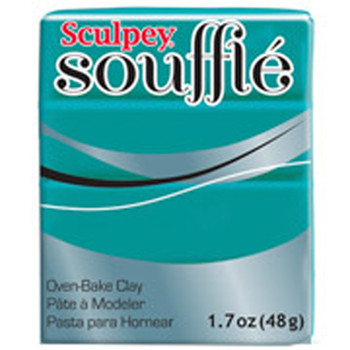 Sculpey Souffie Polymer Clay Sea Glass 1.7Oz