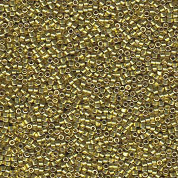 Db1835 Duracoat Glvn Zest 11/0 Delica Aprx 7 Grams Glass Seed Beads