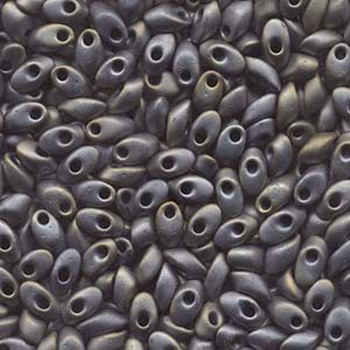 Mt Silver Grey 8.5 Grams 4x7mm Miyuki Long Magatama Glass Fringe Beads Lma-2002
