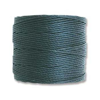 S-Lon Nylon Beading Cord #18 0.5mm Dark Teal 77 Yards  1 Spool