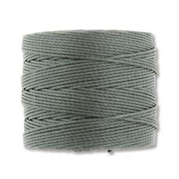 S-Lon Nylon Beading Cord #18 0.5mm Gunmetal 77 Yards  1 Spool