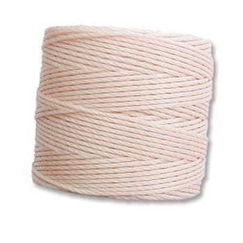 S-Lon Nylon Beading Cord #18 0.5mm Natural 77 Yd 1 Spool