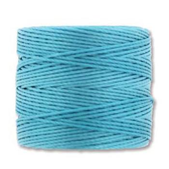 S-Lon Nylon Beading Cord #18 0.5mm Nile Blue 1 Spool