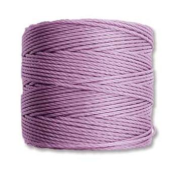 S-Lon Nylon Beading Cord #18 0.5mm Orchid 77 Yards  1 Spool