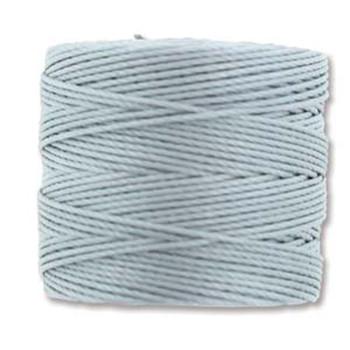 S-Lon Nylon Beading Cord #18 0.5mm Pearl 77 Yards  1 Spool