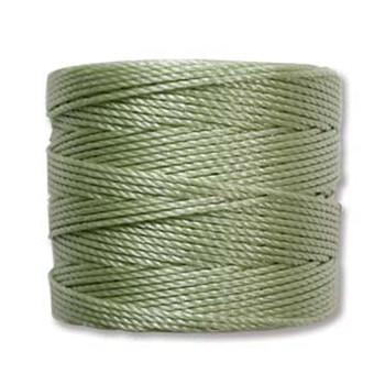 S-Lon Nylon Beading Cord #18 0.5mm Peridot 77 Yards  1 Spool