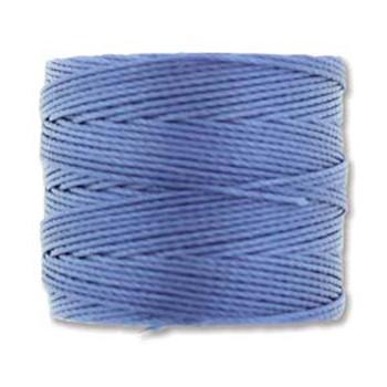 S-Lon Nylon Beading Cord #18 0.5mm Periwinkle 77 Yards  1 Spool