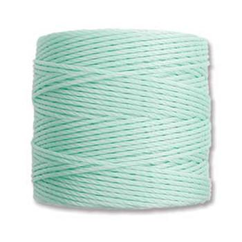 S-Lon Nylon Beading Cord #18 0.5mm Pstl Mint Green 77 Yards  1 Spool