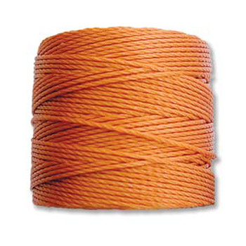 S-Lon Nylon Beading Cord #18 0.5mm Rust 77 Yards  1 Spool