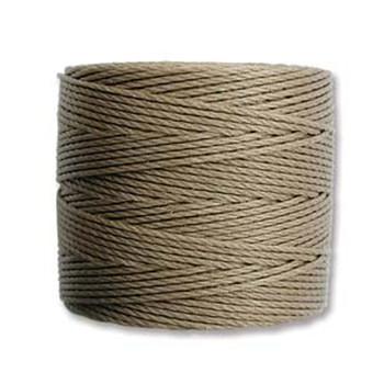 S-Lon Nylon Beading Cord #18 0.5mm Sand 77 Yards  1 Spool