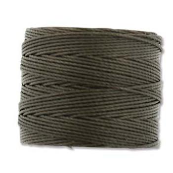 S-Lon Nylon Beading Cord #18 0.5mm Sepia 77 Yards  1 Spool