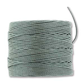 S-Lon Nylon Beading Cord #18 0.5mm Steel 77 Yards  1 Spool