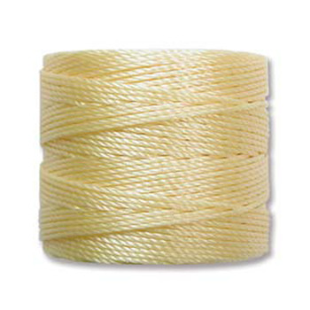 S-Lon Nylon Beading Cord #18 0.5mm Sunlight 77 Yards  1 Spool