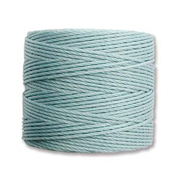 S-Lon Nylon Beading Cord #18 0.5mm Turquoise 77 Yards  1 Spool