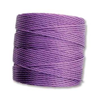 S-Lon Nylon Beading Cord #18 0.5mm Violet 77 Yards  1 Spool