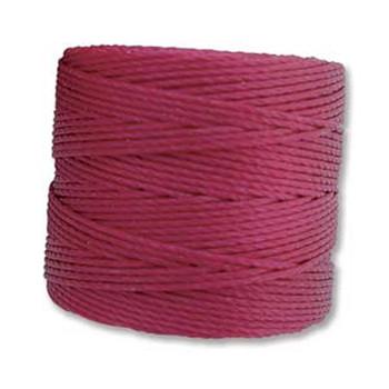 S-Lon Nylon Beading Cord #18 0.5mm Wineberry 77 Yards  1 Spool