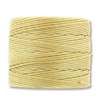 S-Lon Nylon Beading Cord #18 0.5mm Wheat 77 Yards  1 Spool