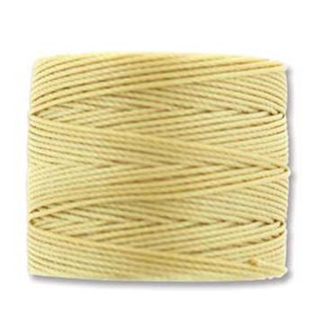 S-Lon Nylon Beading Cord #18 0.5mm Wheat 77 Yards  1 Spool