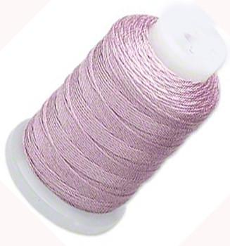 Silk Beading Thread Cord Size E Lilac 0.0128 Inch 0.325mm Spool 200 Yd 5151Bs